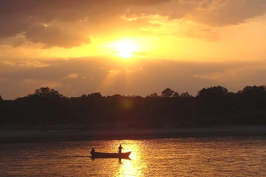 Sunset Rufiji River